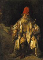 Rembrandt Old Man with a Red Cap