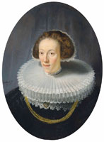 Rembrandt and mainly workshop Portrait of Petronella Buys