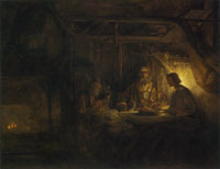 Rembrandt Philemon and Baucis