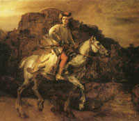 Rembrandt The Polish Rider