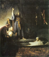Rembrandt The Raising of Lazarus