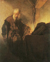 Rembrandt St. Paul at His Writing Desk