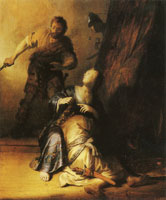 Rembrandt Samson and Delila