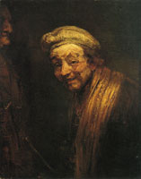 Rembrandt - Self Portrait as Zeuxis Laughing