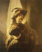 Rembrandt The Standard-Bearer