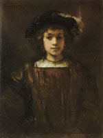 Style of Rembrandt Rembrandt's Son, Titus