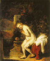 Rembrandt Susanna at the Bath