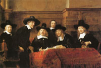 Rembrandt The Syndics