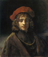 Rembrandt Titus, the Artist's Son