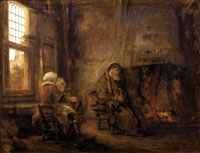 Rembrandt Tobit and Anna