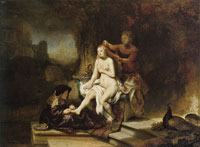 Rembrandt The Toilet of Bathsheba