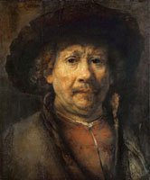 Rembrandt The so-called small Vienna self-portrait