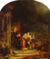 Rembrandt The Visitation