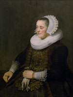 Rembrandt and workshop Portrait of a woman