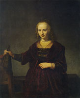 Style of Rembrandt - Portrait of a Woman