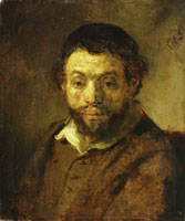 Rembrandt Portrait of a Young Jew