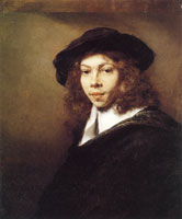 Rembrandt Portrait of a Young Man