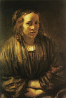 Rembrandt Young Woman