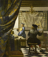 Johannes Vermeer The Art of Painting