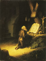 Gerard Dou A Hermit Praying
