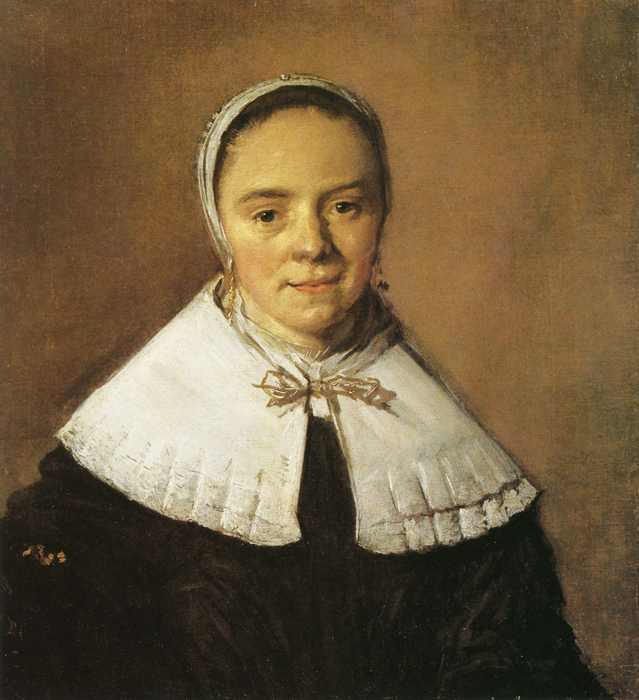 Frans Hals - Portrait of a woman