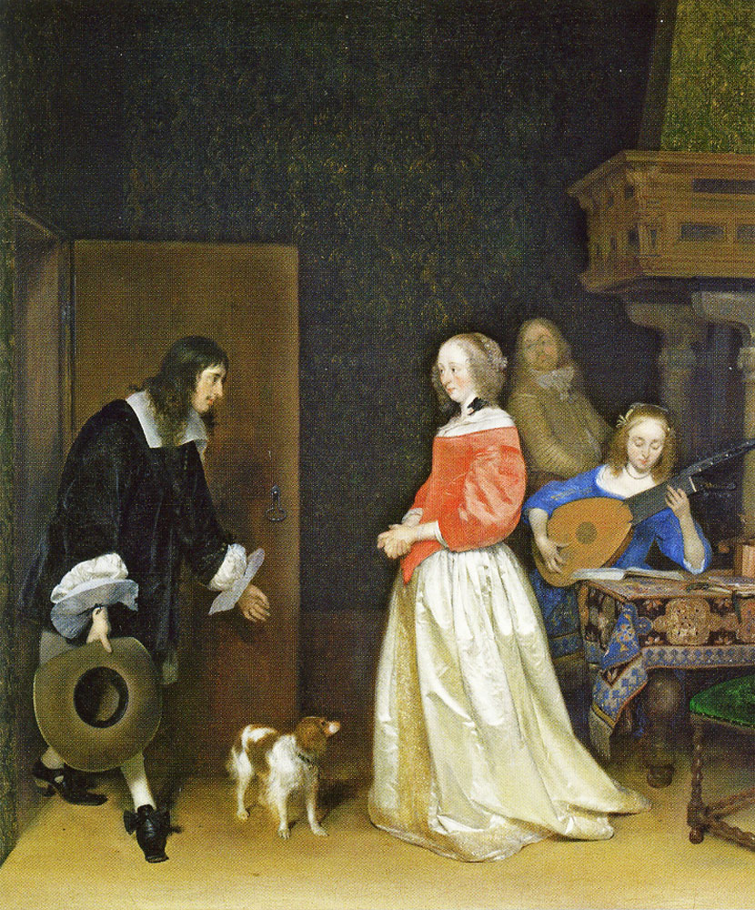 Gerard ter Borch - The Suitor's Visit