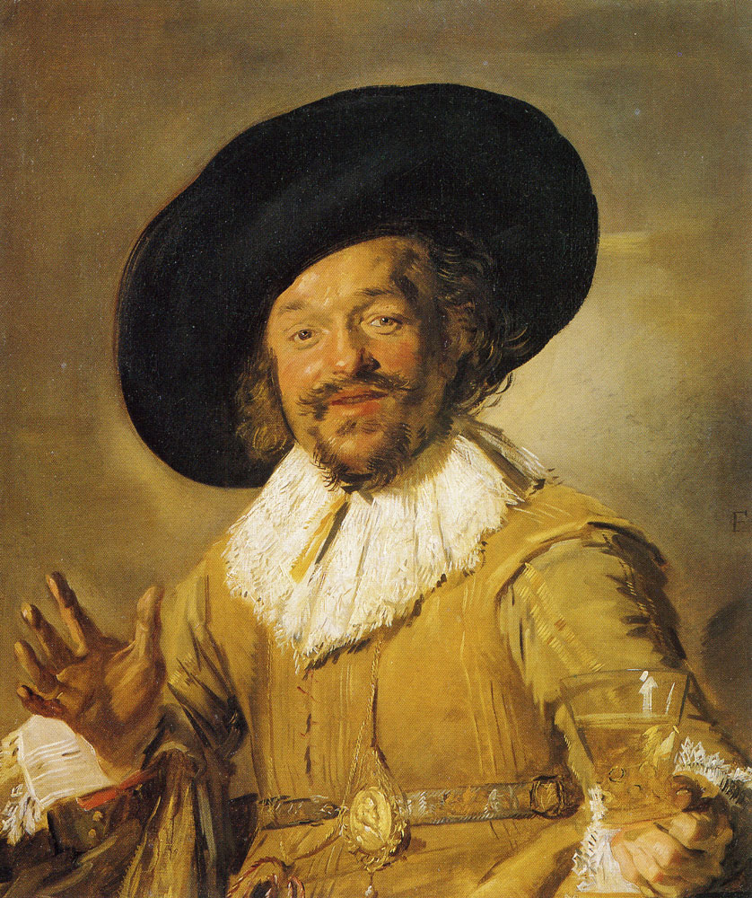 Frans Hals - The merry drinker