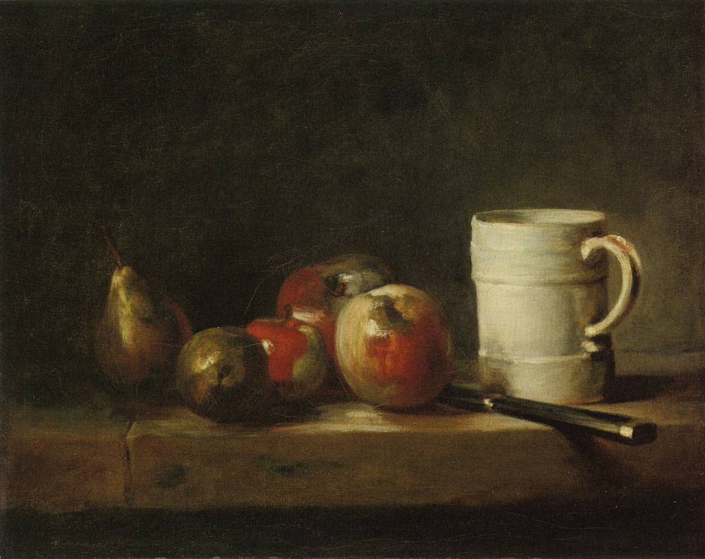 Jean-Siméon Chardin - Still Life with a White Mug