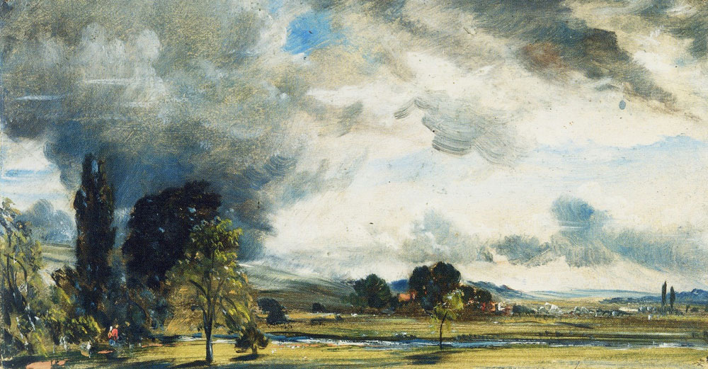 John Constable - View at Salisbury