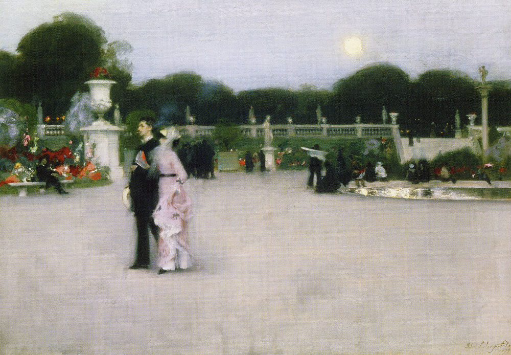John Singer Sargent - In the Luxembourg Gardens