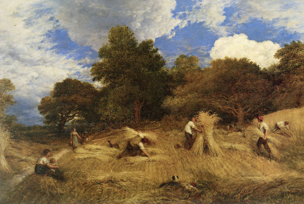 John Linnell - Wheat