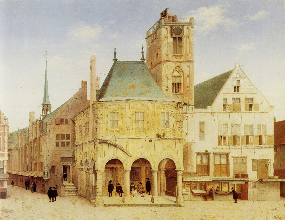Pieter Saenredam - The old town hall of Amsterdam