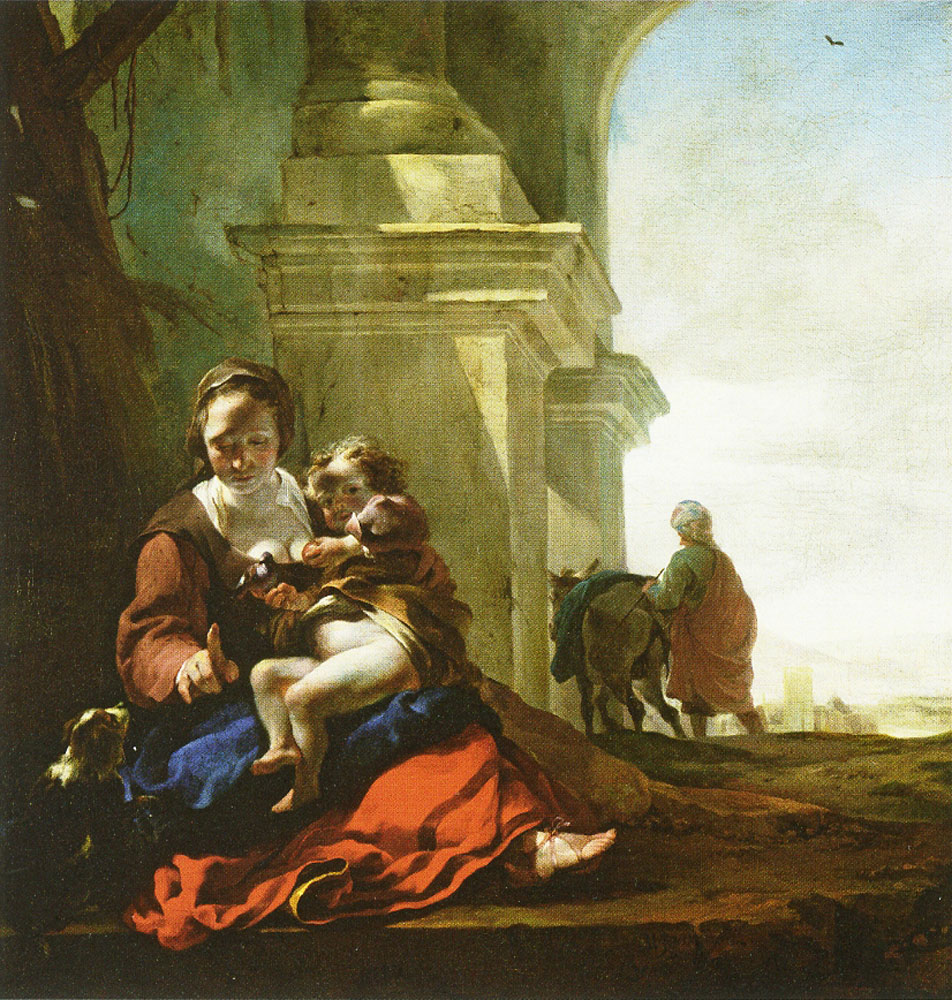 Jan Baptist Weenix - Rest on the Flight into Egypt
