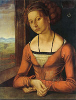 Albrecht Dürer Portrait of a Young Woman