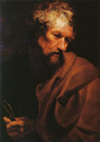 Anthony van Dyck The apostle Bartholomew