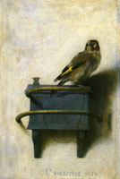 Carel Fabritius The Goldfinch