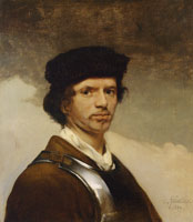 Carel Fabritius Self-Portrait