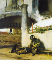 Carel Fabritius The Sentry