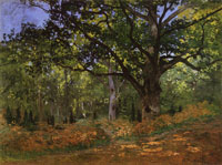 Claude Monet The Bodmer Oak, Fontainebleau Forest