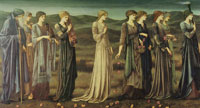 Edward Burne-Jones The wedding of Psyche