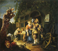 Frans van Mieris the Elder A Tinker