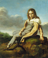 Théodore Gericault Alfred Dedreux as a Child