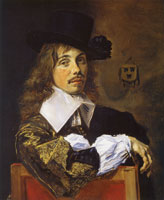 Frans Hals Portrait of Willem Coymans