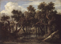 Jacob van Ruisdael Marsh in a Forest