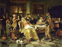 Jan Steen Twelft Night