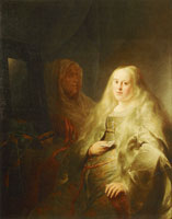 Jan Lievens Bathsheba Receiving King David's Letter