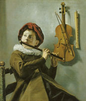 Judith Leyster Young Flute Player