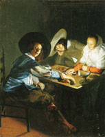 Judith Leyster A Game of Tric-Trac