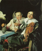 Judith Leyster Carousing Couple