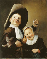Judith Leyster Children with a Cat and an Eel